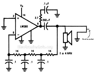 Pull Pin Alarm Circuit Diagram