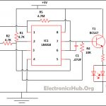 LED Lamp Dimmer Circuit