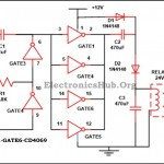 12V to 24V DC Converter Circuit Diagram