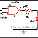 Design of Basic Logic Gates using NAND Gate