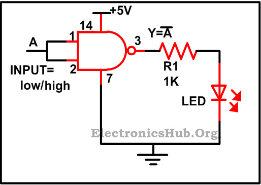 electronics projects  electronics projects using logic gates