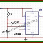 Electronic Mosquito Repellent Circuit Diagram