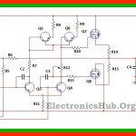 100W MOSFET Power Amplifier Circuit Diagram