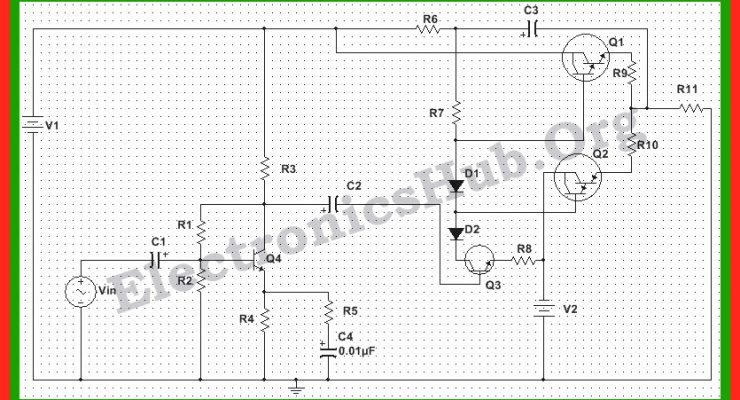 150 Watt Power Amplifier Circuit