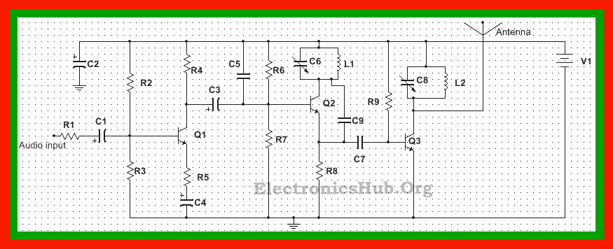 Circuit Diagram of FM