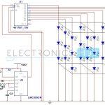 3X3X3 LED Cube Circuit