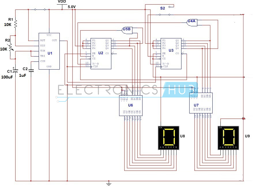 0 59 counter circuit diagram  u2013 readingrat net