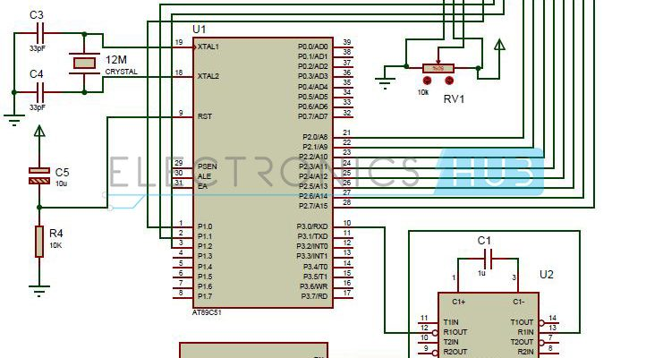 Interfacing GPS with 8051 Microcontroller