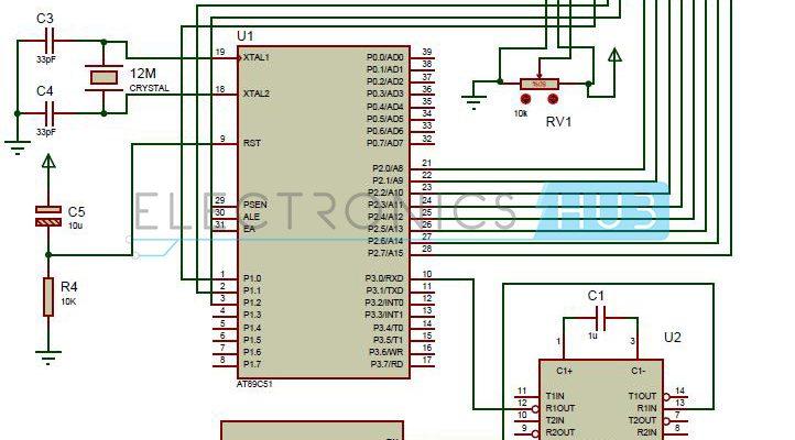 Interfacing GPS with 8051 Microcontroller