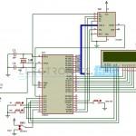 Digital Clock Circuit using 8051 and DS12C887