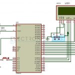 Random Number Generator Circuit Diagram using 8051 Microcontroller