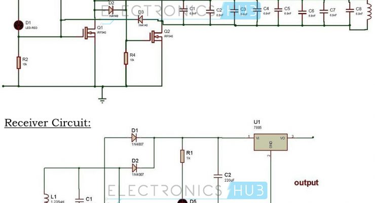 Wireless Mobile Battery Charger Circuit