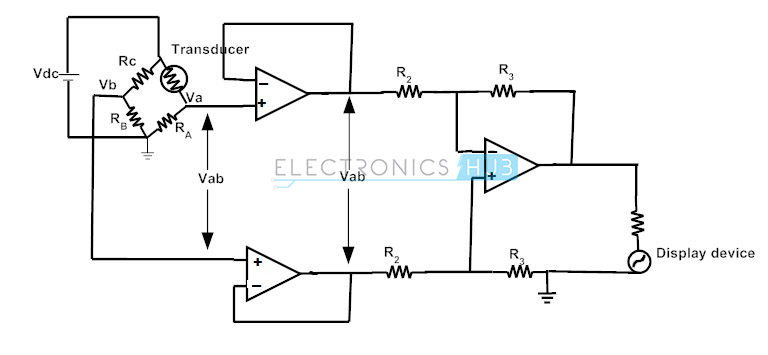 3. transducer bridge instrumentation amplifier