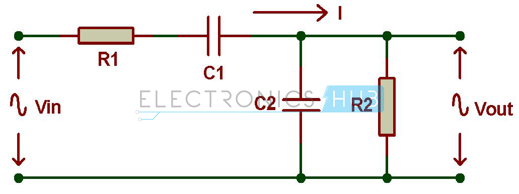 Passive Rc Band Pass Filter Circuit Diagram