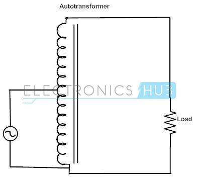 5. Step-up autotransformer