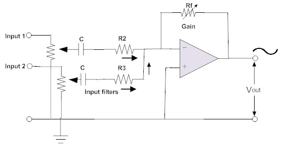 Inverting and Non Inverting Summing Amplifier | Voltage Adder