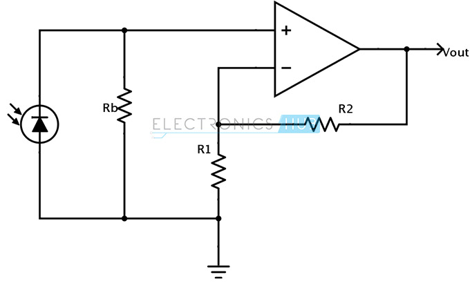 Photodiode in photovoltaic mode