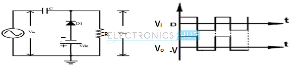 26. Positive Clamper with negative Reference Voltage