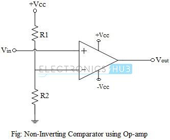 Non-Inverting Comparator