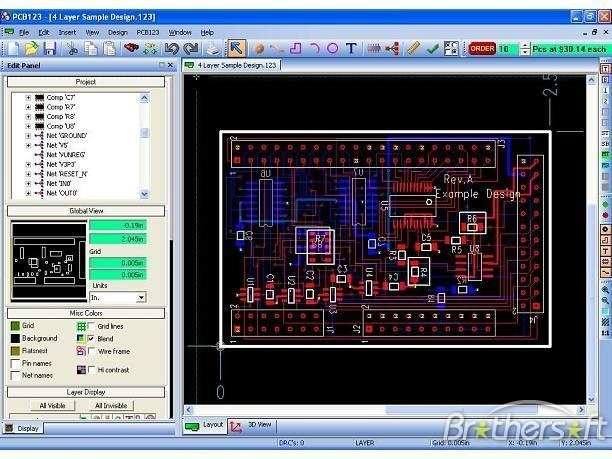 free pcb is an open source pcb design software for windows systems