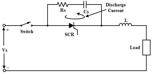 High Voltage Snubber : Scr protection