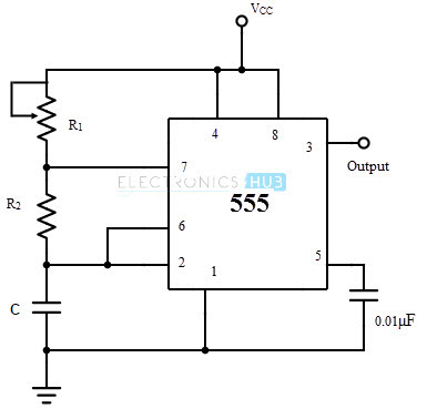 555 timer working principle pdf