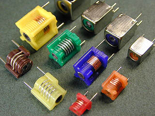 Molded inductors