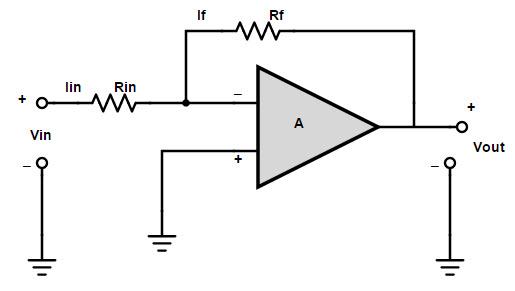 negative feedback system, wiring diagram
