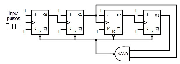 decade counter circuit diagram  u2013 readingrat net