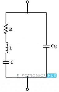 Equivalent Circuit of Quartz Crystal