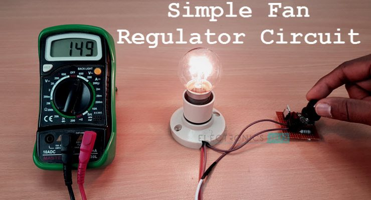 Simple Fan Regulator Circuit