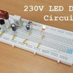 230v LED Driver Circuit