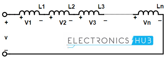 Inductors connected in series