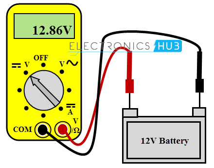 voltage measurement using multimeter. Black Bedroom Furniture Sets. Home Design Ideas