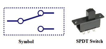 types of switches Single Pole Double Throw Diagram single pole double throw switch (spdt) single pole double throw diagram