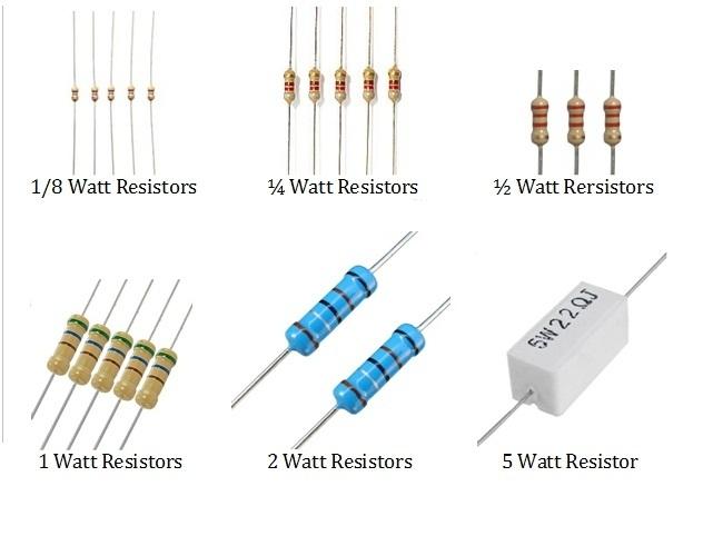 resistor wattage