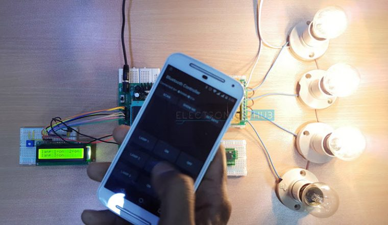 Bluetooth Controlled Electronic Home Appliances Image 6