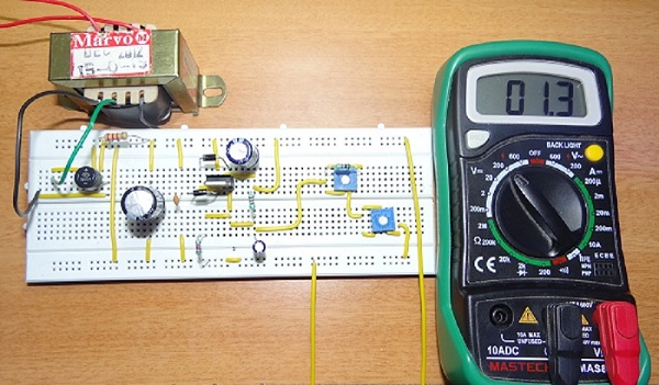 Variable Power Supply Circuits