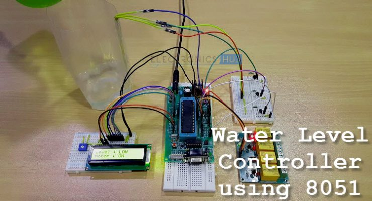 Water Level Controller using 8051 Microcontroller