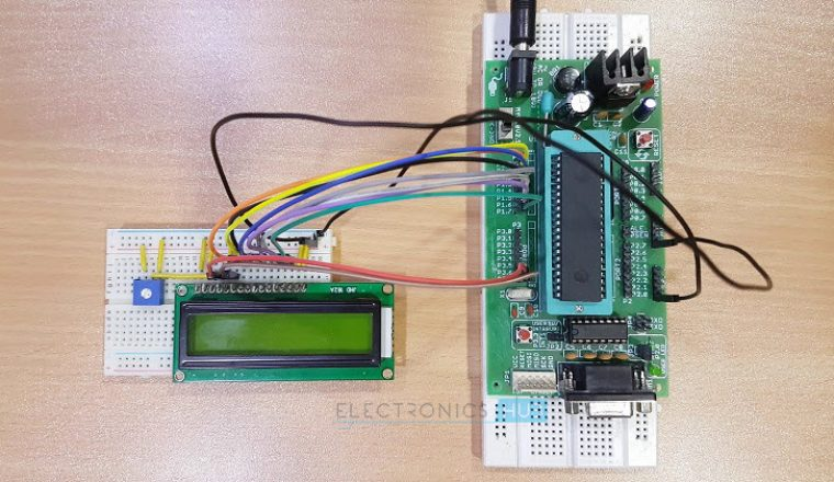 Water Level Controller using 8051 Microcontroller Image 2