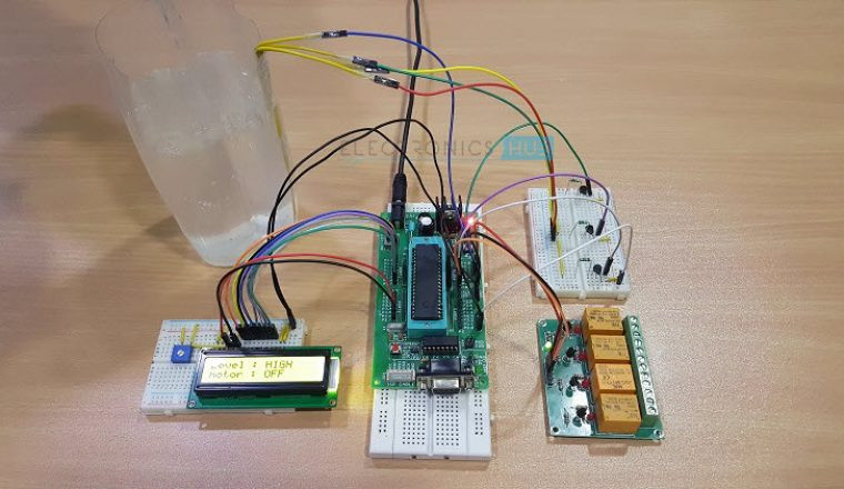 Water Level Controller using 8051 Microcontroller Image 6