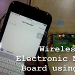 """gsm controlled notice board 8051 Connections of wireless notice board using gsm and arduino are simple and shown in the figure below here a liquid crystal display (lcd) is used for display the """"notice"""" or message, which is sent though the mobile phone as sms."""