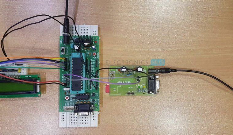 Wireless Electronic Notice Board using GSM Image 3