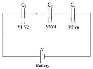 capacitors in series