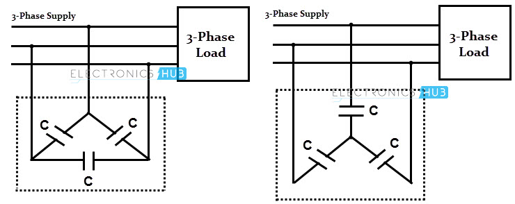 power factor and its correction, circuit diagram