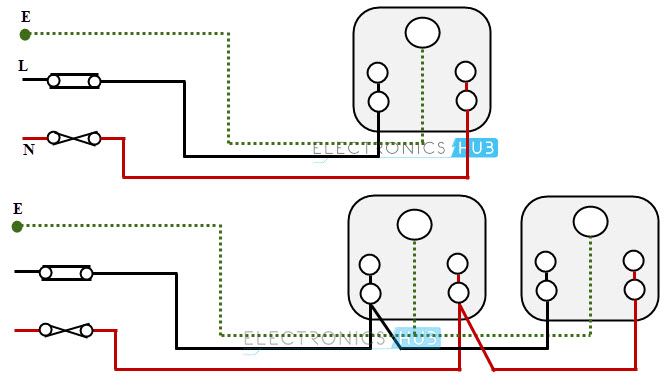 Socket outlet wiring electrical wiring systems and methods of electrical wiring simple switchboard wiring diagram at crackthecode.co