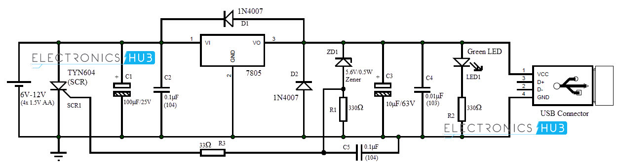 Circuit Battery 8211 Charging Regulator
