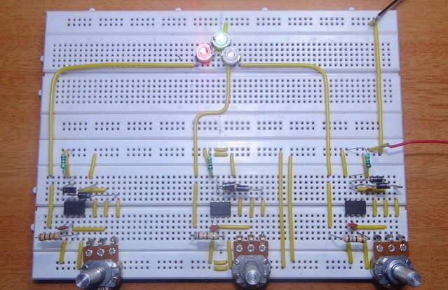 RGB light bulb output