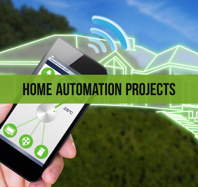 Mini projects on home automation