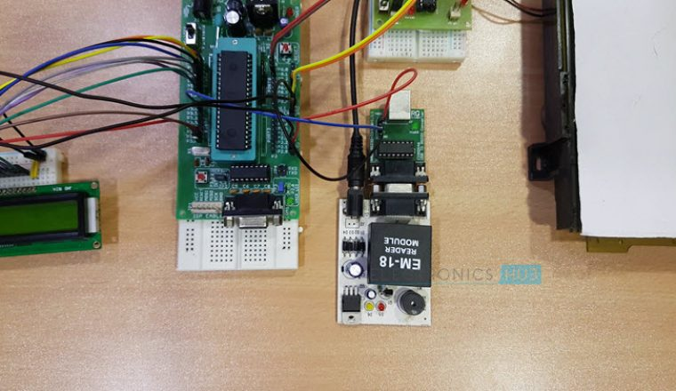 RFID Security Access Control System using 8051 Image 4